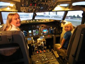 Flight Simulator Kids Parties