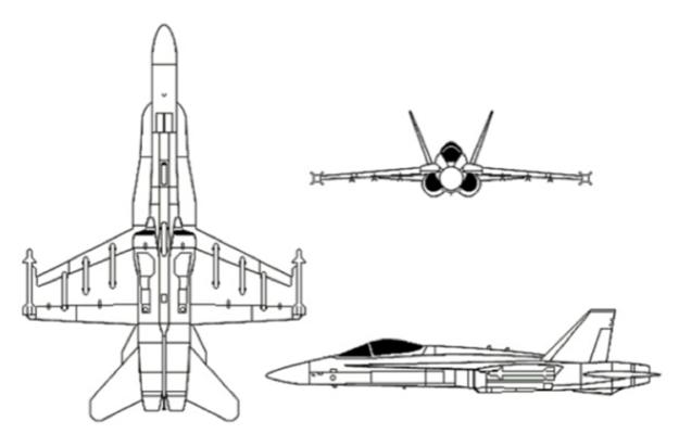 F/A 18 Hornet Simulator