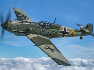 Messerschmitt BF109K Flight Simulator Experience